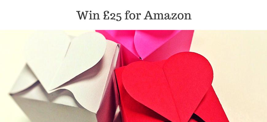 Win £25 for Amazon